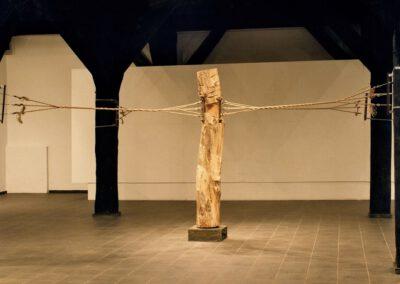 Drzewo rozpięte, 2002 r.